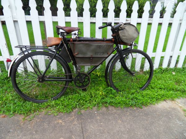 Extremely Rare 1941 Swiss Army Karabiner Bicycle With Everything WW2 - $1499 (Lafayette, LA.)