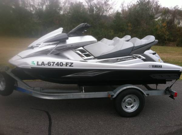 Matching Pair 2012 Yamaha FX Ho Cruisers With Warranty - $19500 (Baton Rouge )