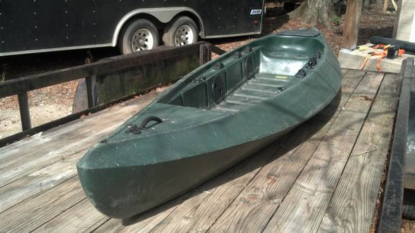 Ocean Kayak Ambush 14 solotandem fishing kayak with trailer - $800 (Covington)