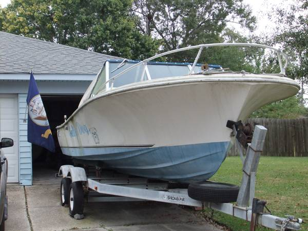 1975 WELLCRAFT 20 FT. BOAT - $2000 (SLIDELL, LA. )