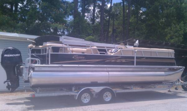 2012 BENTLEY 24 FT PONTOON ENCORE SE 240 - $24500 (MADISONVILLE,LA)