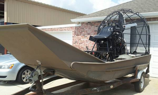 1990 Alumtech Airboat - $23000 (marrero)