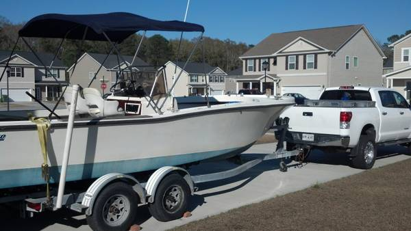 1974 mako 23 with 1995 evinrude 225 (Savannah, Ga)