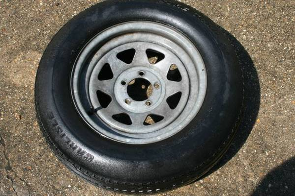 Boat Trailer Spare Tires - $70