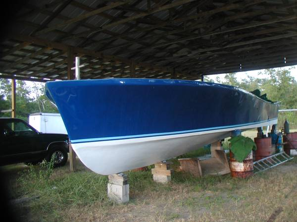 32x 13 Lafitte Skiff Hull Deck over - $25 (Bay st Louis)