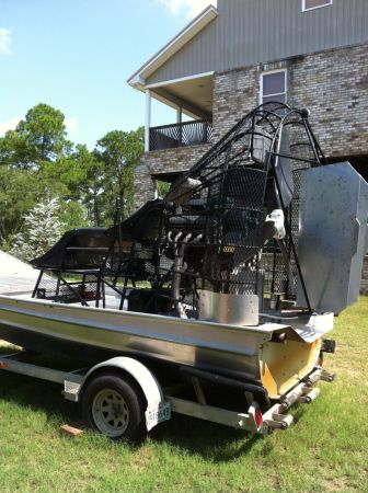 15 Aluminum Airboat  - $19500 (Ocean Springs, MS)