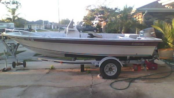1990 Critchfield Yamaha70 fishing Boat - $4000