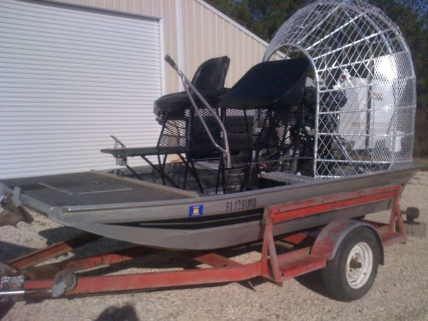 12x7 diamondback airboat - $8500 (killian louisiana)