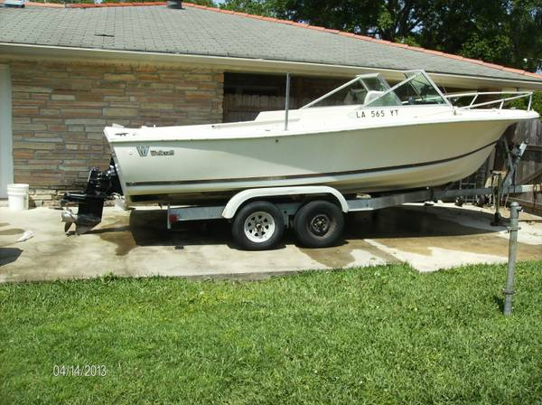 20 wellcraft v-20 - $2800 (new orleans)
