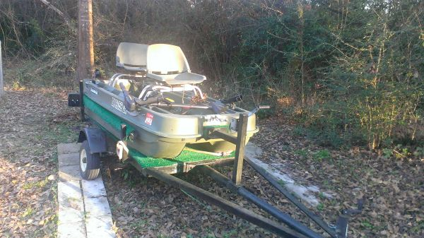 2 man bass boat - $700 (pearl river)