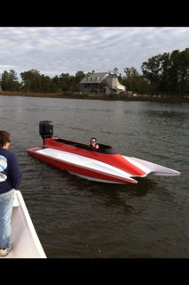 (REDUCED) 18ft Mirage tunnel hull - $4200 (Pass Christian, MS)