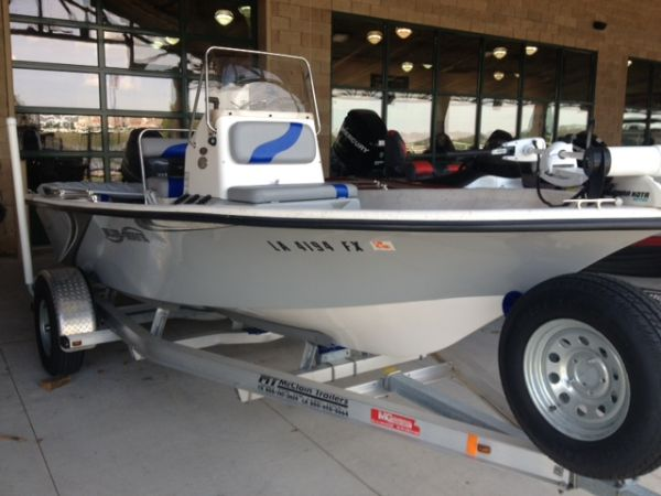 2011 Blue Wave Bay Boat with Yamaha 4 Stroke Outboard McClain Trailer - $17500 (Gonzales,LA)