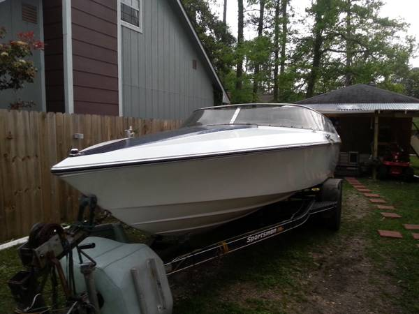 86 WELLCRAFT SCARAB 1 21SS PROJECT BOAT WITH TRAILER - $2000 (slidell)