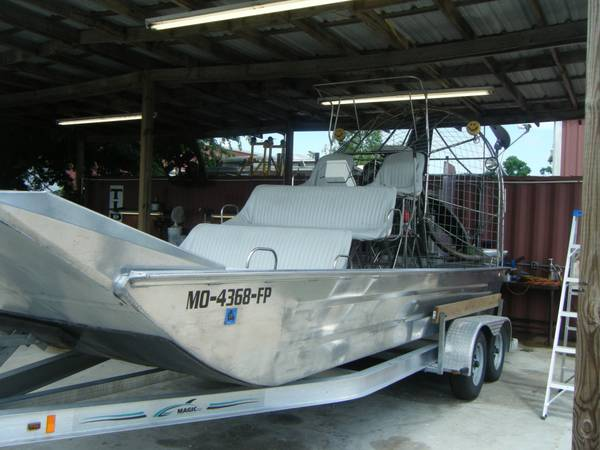 2011 all aliminumstainless airboat w502 hi-perf chevy - $32500 (belle chasse)