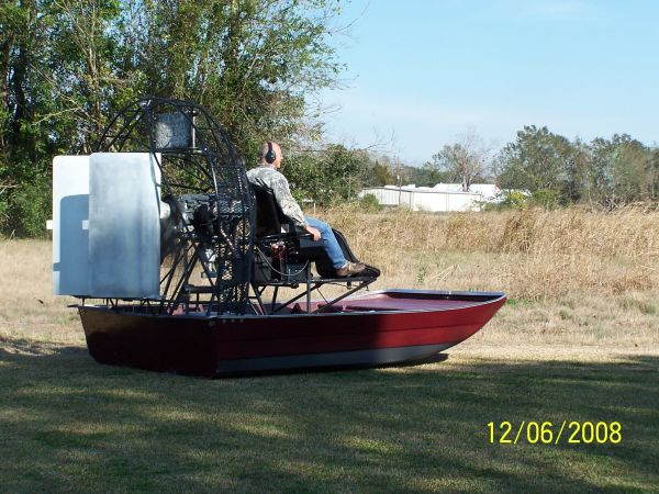 12 Gillieo Airboat 200hp Lycoming - $10000 (Franklin La.)