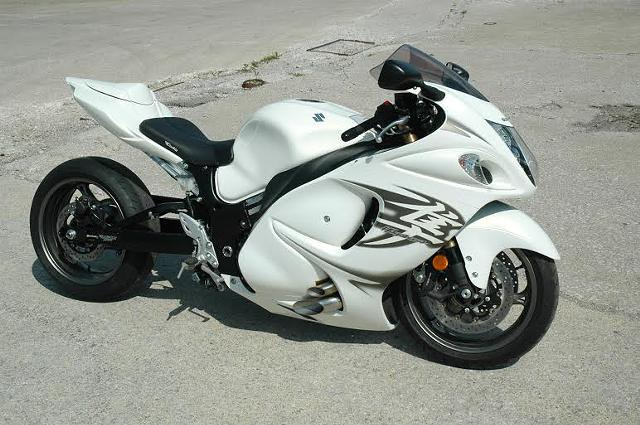 2 700  2011 Suzuki Hayabusa Turbo - 62 Miles - Never Down - GSXR1000 Tail