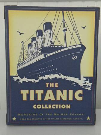 The Titanic Collection - Mementos Of The Maiden Voyage -   x0024 20  Gretna  La