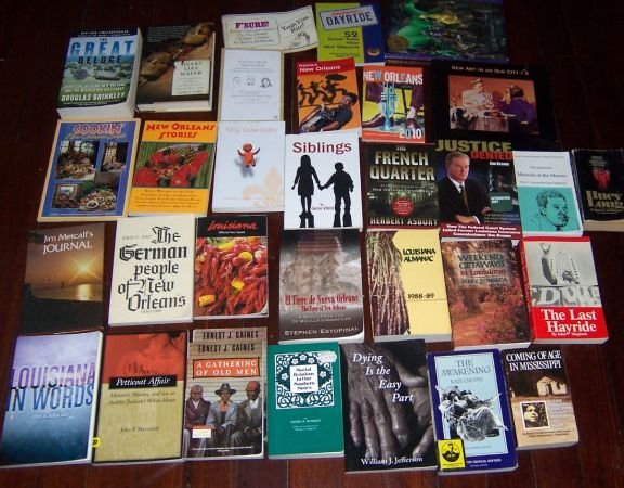 New OrleansLouisiana Books - $100 (New Orleans)
