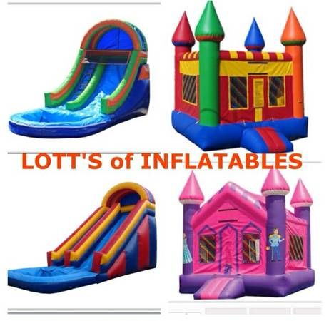 For Rent space walks, water slides (504)6137327 - $100 (West Bank )