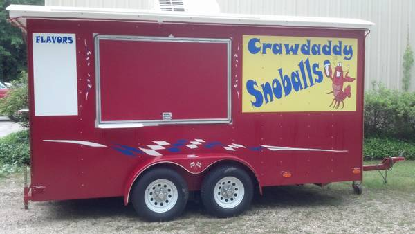 Snowball Trailer - $18000 (Pearl River)