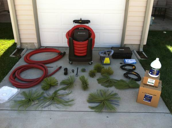 Rotobrush Air Duct Cleaning Machine For Sale