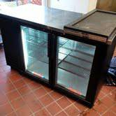 TRUE BACK BAR GLASS  2 DOOR COOLER - $1100 (METAIRE)