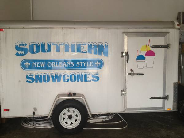 Snow-Ball Trailer  - $9000 (Mandeville)