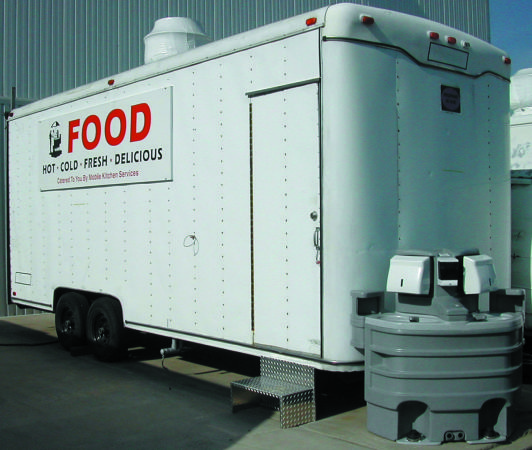 20 NSF  UL APPROVED MOBILE COMMERCIAL KITCHEN FOOD SERVICE TRAILER  - $45000 (STAMFORD, CONNECTICUT)