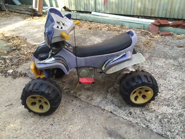 FREE Power Wheels 4 wheeler by Fisher Price (marigny)