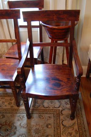 Nadeau Furniture - 8 Chair Set - $400 (Lakeview)