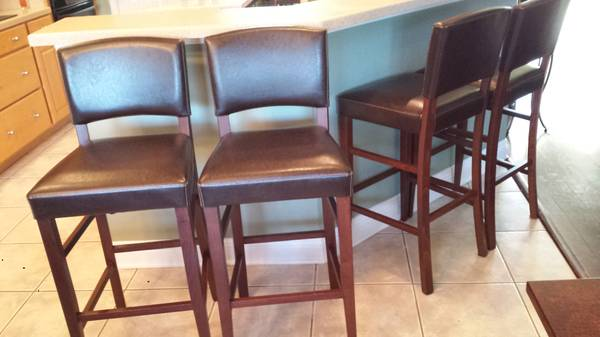4 Bar Stools from Pier One - $100 (Slidell)