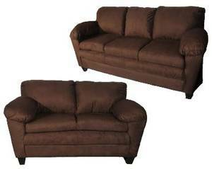NEW SOFA SETS - 6 COLORS - NO USED OR FACTORY SECONDS - $575 (Metairie-NECESSITY FURNITURE WAREHOUSE)