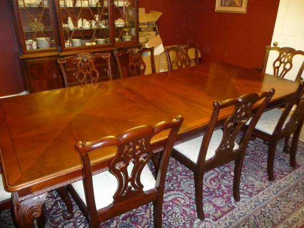 Lexington Furniture Dining Room Set Reduced Price 6495 Metarie Arnold Palmer Collection