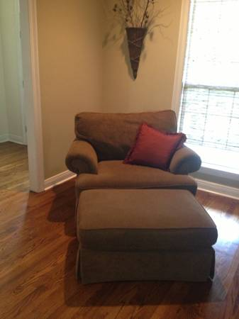 Sofa and Oversized Chair wOttoman - $599 (Mandeville)