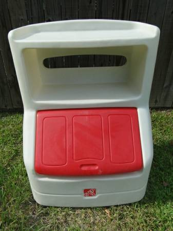 Step 2 Lift and Hide Toy Chest Book Case - $45 (Hammond )
