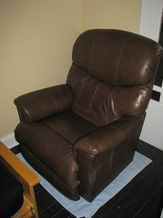 Brown La-Z-Boy Chair - $125 (Uptown)