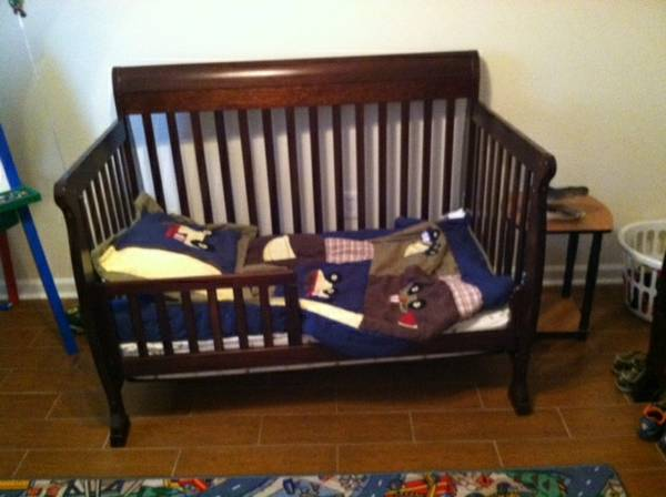 Convertible Baby Bed  Furniture For Sale - $500 (Chalette, LA)