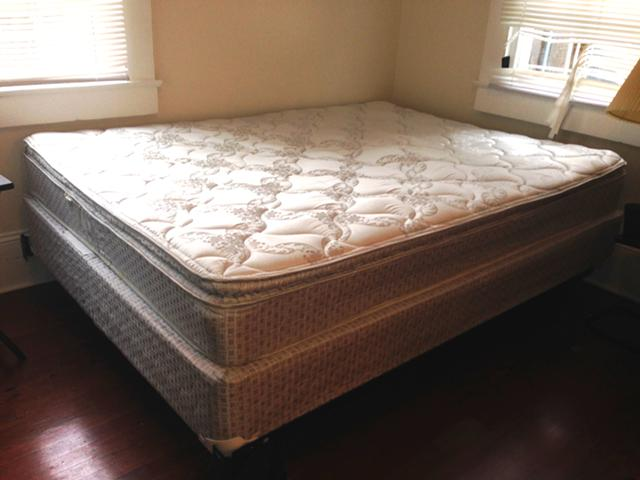 250  Quality Queen Bed Mattress  Boxspring  Frame For Sale -  250 New Or -  250