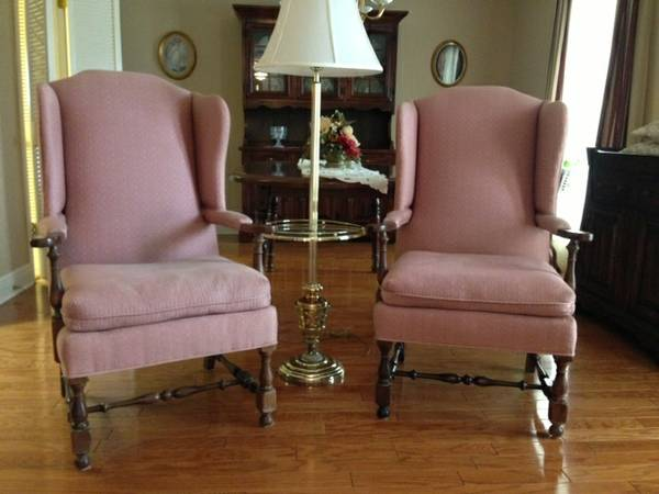 Queen Anne chairs by Ethan Allen - $425 (Kenner)