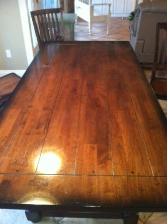 World Market Dining room table and chairs - $500 (Madisonville. La)