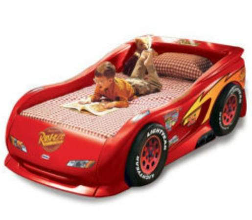 Lightning McQueen Twin Bed by Little Tikes - $250 (LaPlace)