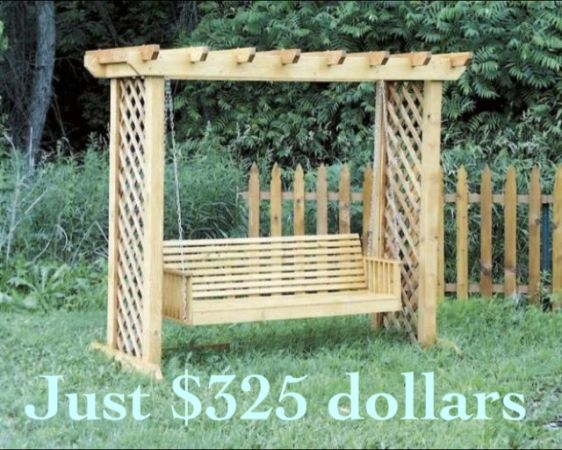 Custom Porch and Patio, Picnic Tables, Adirondack Chairs, Swings, etc - $75 (Metairie)