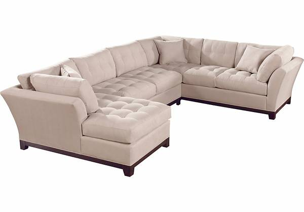 Cindy Crawford 3pc sectional sofa set - $800 (marrero)