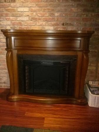 Fireplace-free standing electric - $250 (Slidell)