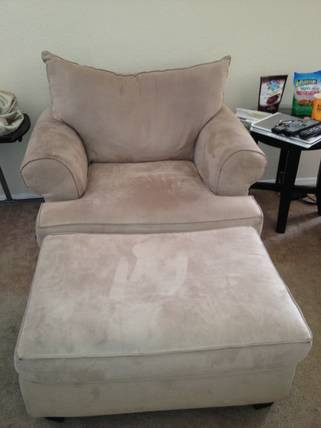 Love Seat with Chair and Ottoman (Rooms to Go) - $150 (Kenner)