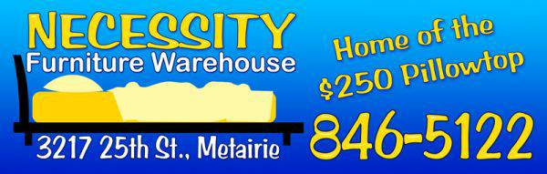 INVENTORY REDUCTION SALE - ALL NEW MERCHANDISE - $99 (Metairie Necessity Furniture Warehouse)
