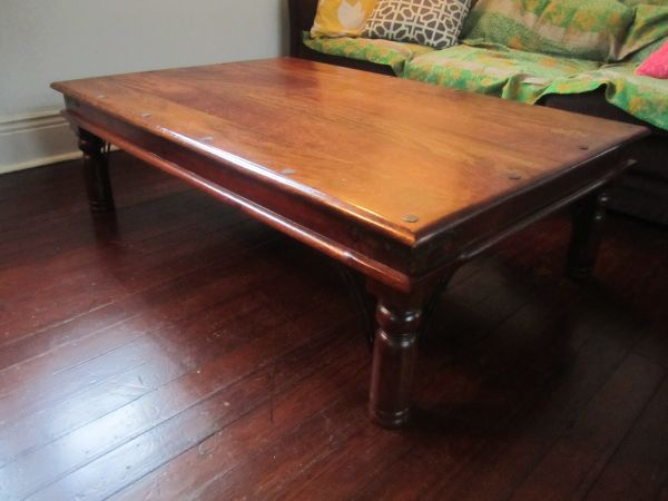 Nadeau Coffee Table - $100 (Midcity - Fairgrounds)