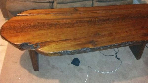 Awesome sinker cypress coffee table - $300 (Metairie)