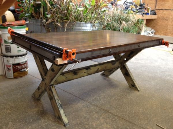 Reclaimed Kids Farm Table Butcher Block Planks - $325 (New Orleans)