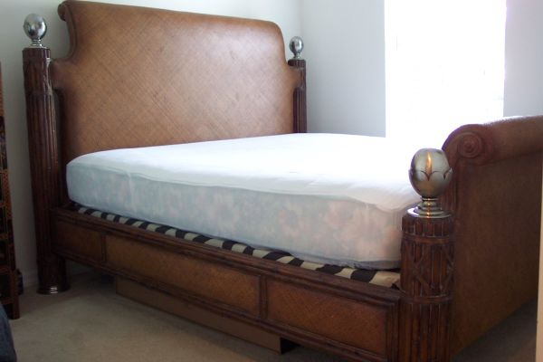 ERNEST HEMINGWAY KING SIZE BED - $1100 (New Orleans,  Louisiana)